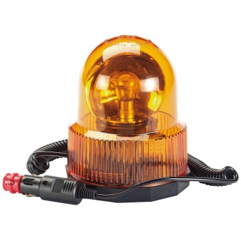 12V Magnetic Base Rotating Beacon