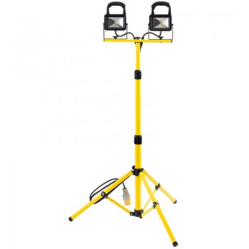 110V Twin COB LED Worklamp with Tripod (10W)