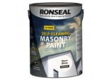 Self Cleaning Smooth Masonry Paint - 5L Warm White