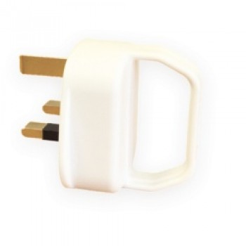 13A Pull Plug to BS1363 White