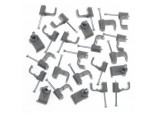 Cable Clips - Flat - 14mm Pack 10