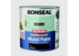 10 Year Weatherproof Gloss Wood Paint - 2.5L Black