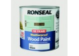 10 Year Weatherproof Gloss Wood Paint - 2.5L White