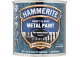 Metal Paint Hammered 250ml - Black