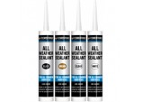 All Weather Sealant - 300ml Cartridge - Black