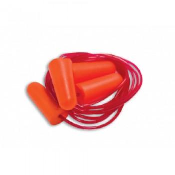 Corded Ear Plugs - Orange