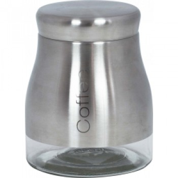 Stainless Steel Coffee Jar - Stainless Steel