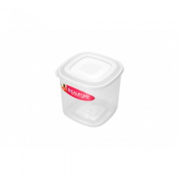 Food Container Square Upright - 2L Clear