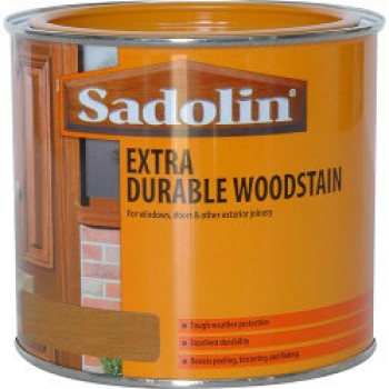 Extra Durable Woodstain - Jacobean Walnut - 500ml