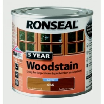 5 Year Woodstain 250ml - Oak