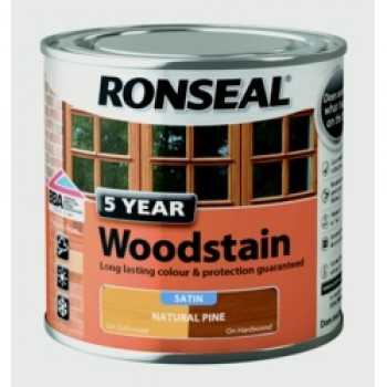 5 Year Woodstain 250ml - Natural Pine