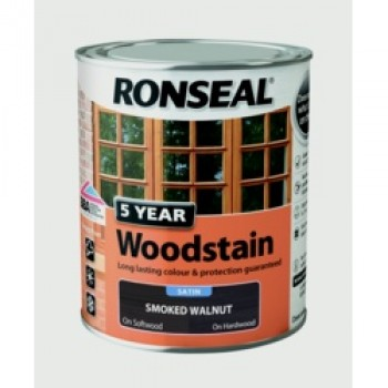 5 Year Woodstain 750ml - Smoked Walnut
