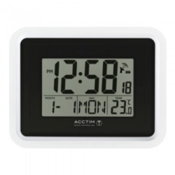 Delta Wall Clock - White