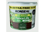 One Coat Fence Life 9L + 33% Free - Forest Green