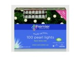 100 Multi Action Pearl Lights - Warm White LEDs