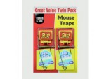 Fresh Baited Mouse Trap - Twinpack