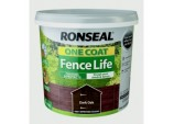 One Coat Fence Life 5L - Dark Oak