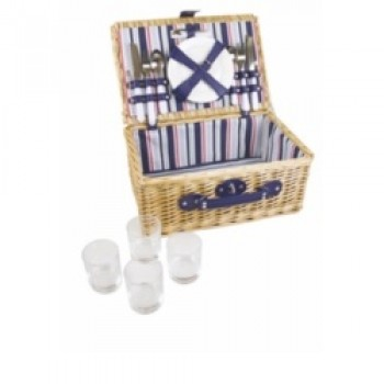 Wicker Basket - 4 Person