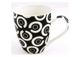 Checkers Mug - Black/White