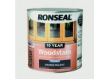 10 Year Woodstain Satin 750ml - Smoked Walnut