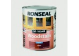 10 Year Woodstain Satin 750ml - Teak