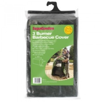 3 Burner Barbecue Cover - 130cm x 74cm x 61cm
