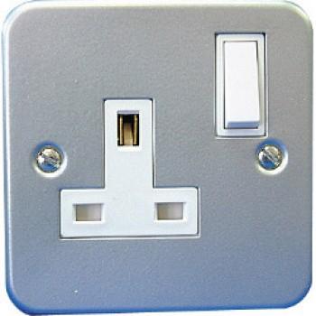13A, 1 Gang Switch Socket