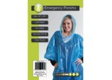 Emergency Poncho Blue