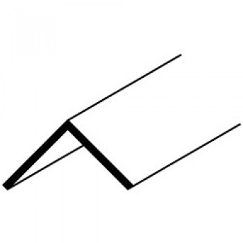 19mm Angle - 12 x 2.44m - White