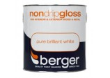 Non Drip Gloss 2.5L - Pure Brilliant White