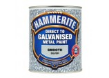Direct To Galvanised Metal Paint 750ml - Silver