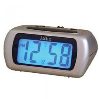 Auric LCD Clock - Black