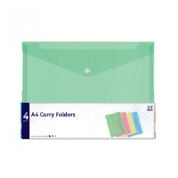 A4 Carry Folders - Pack 4