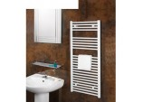 Chrome Straight Towel Rail - 600 x 1200mm