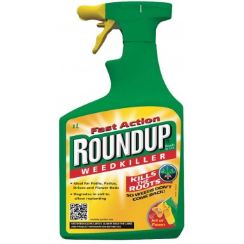 1 Litre Fast Action Roundup Weedkiller