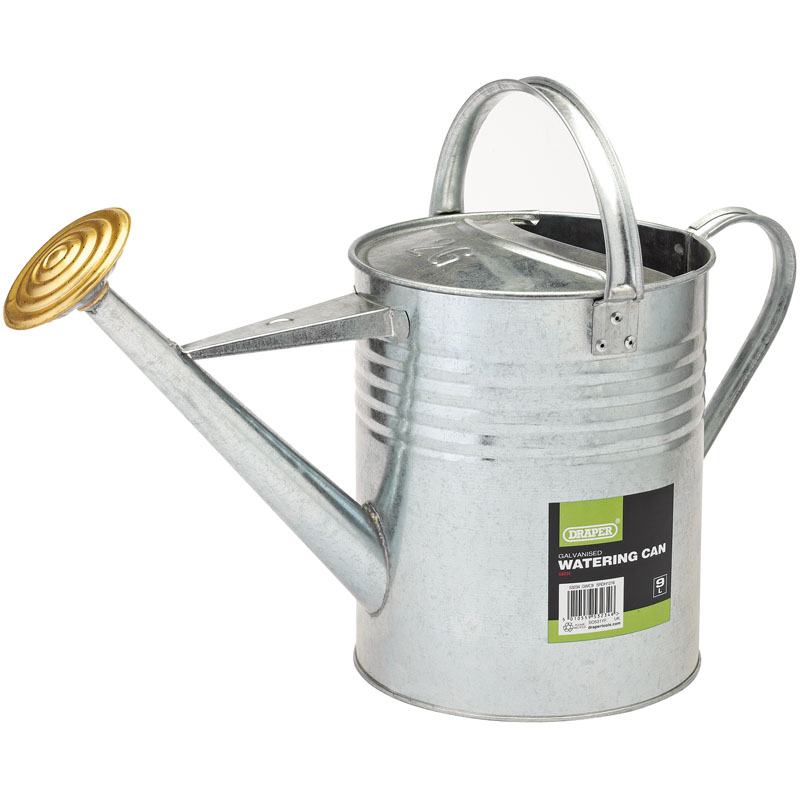 Galvanised Watering Can (9L) – Now Only £12.02