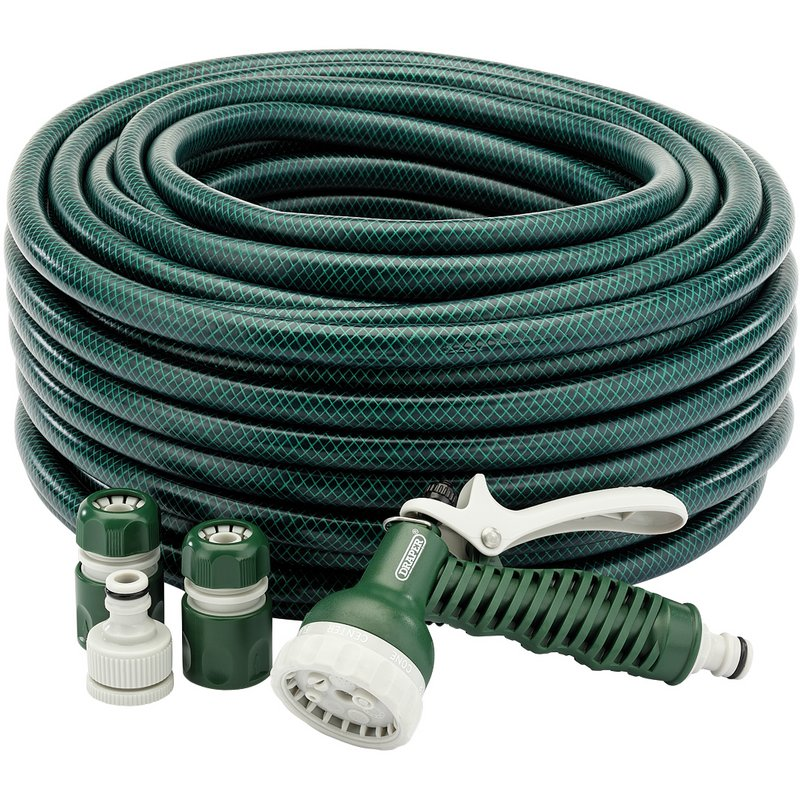 12mm Bore Garden Hose and Spray Gun Kit (30M) – Now Only £16.64