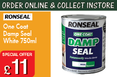 One Coat Damp Seal White 750ml – Now Only £11.00