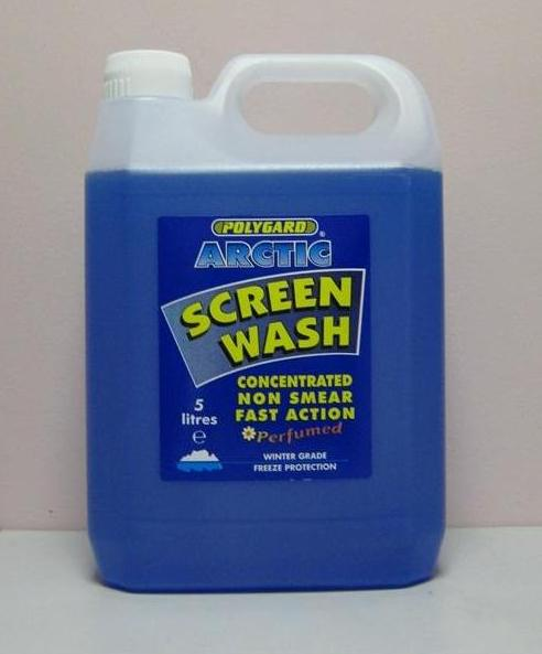 Arctic Screen Wash - Concentrated 5Ltr – Now Only £4.00
