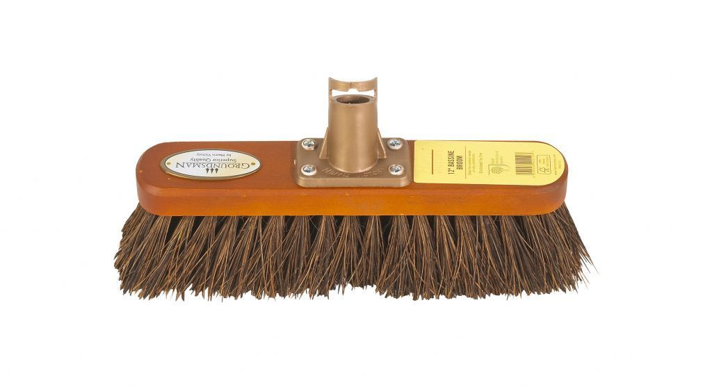 "12"" Groundsman Bassine Broom – Now Only £4.00"
