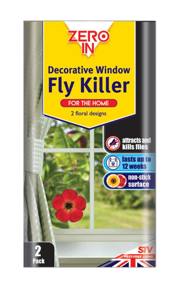 Decorative Window Fly Killer Twin Pack – Now Only £3.00