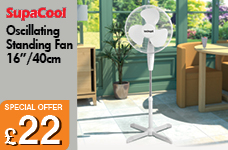 Oscillating Stand Fan 16 inch – Now Only £22.00