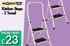 Kitchen Steps - 2 Tread – Now Only £23.00