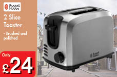 2 Slice Toaster – Now Only £24.00
