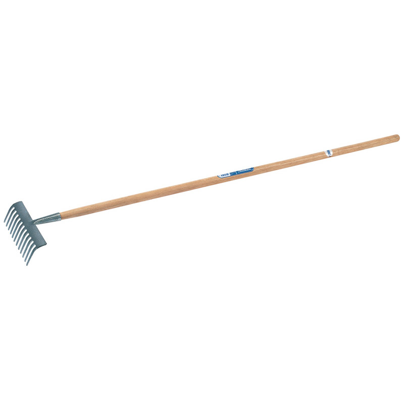 Carbon Steel Garden Rake with Ash Handle – Now Only £8.63