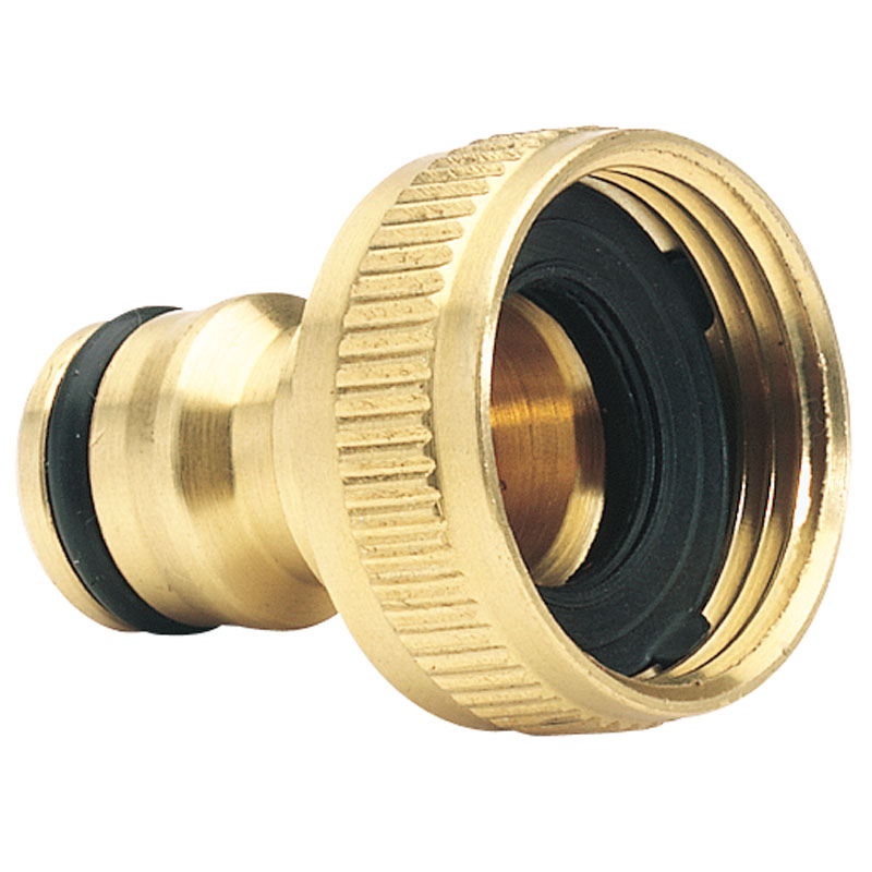 """Brass Garden Hose Tap Connector (3/4"""") – Now Only £1.74"""