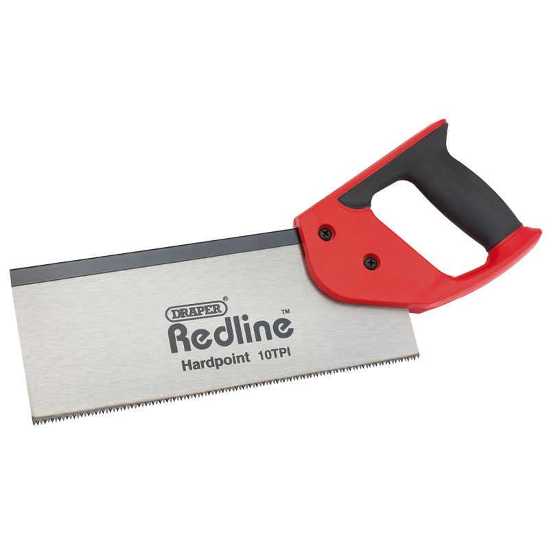 Soft Grip Hardpoint Tenon Saw (250mm) – Now Only £3.20