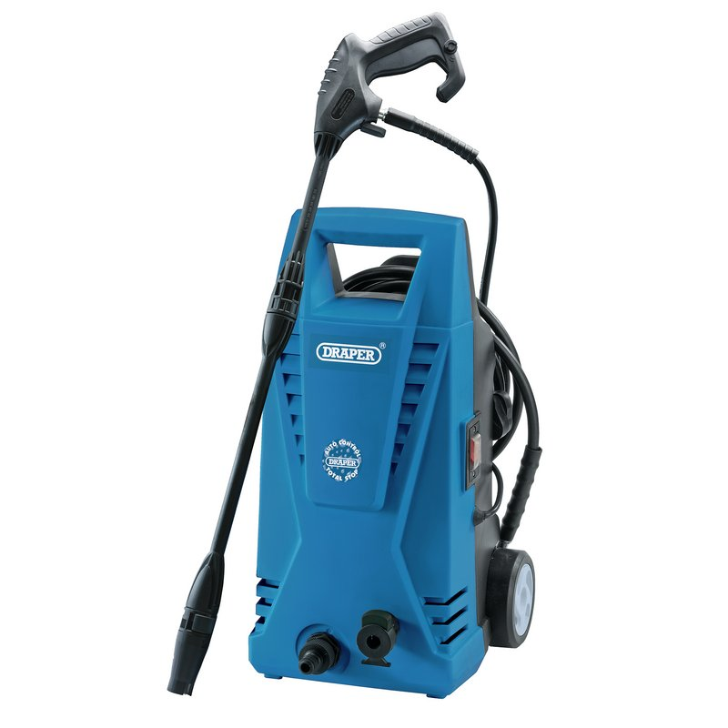 Pressure Washer with Total Stop Feature (1500W) – Now Only £74.34