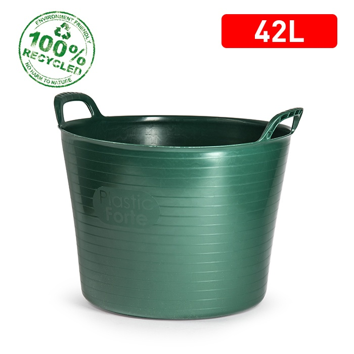 42 Litre Recycled Flexi Tub - Green – Now Only £4.00