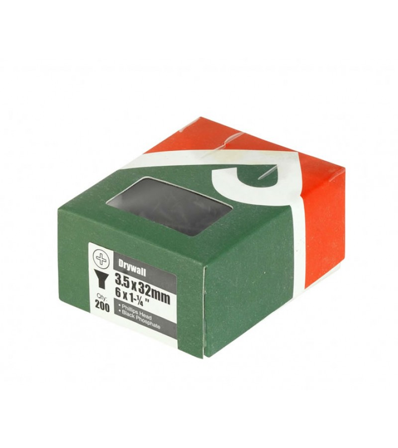 Green Decking Screw - Box of 200 – Now Only £6.00